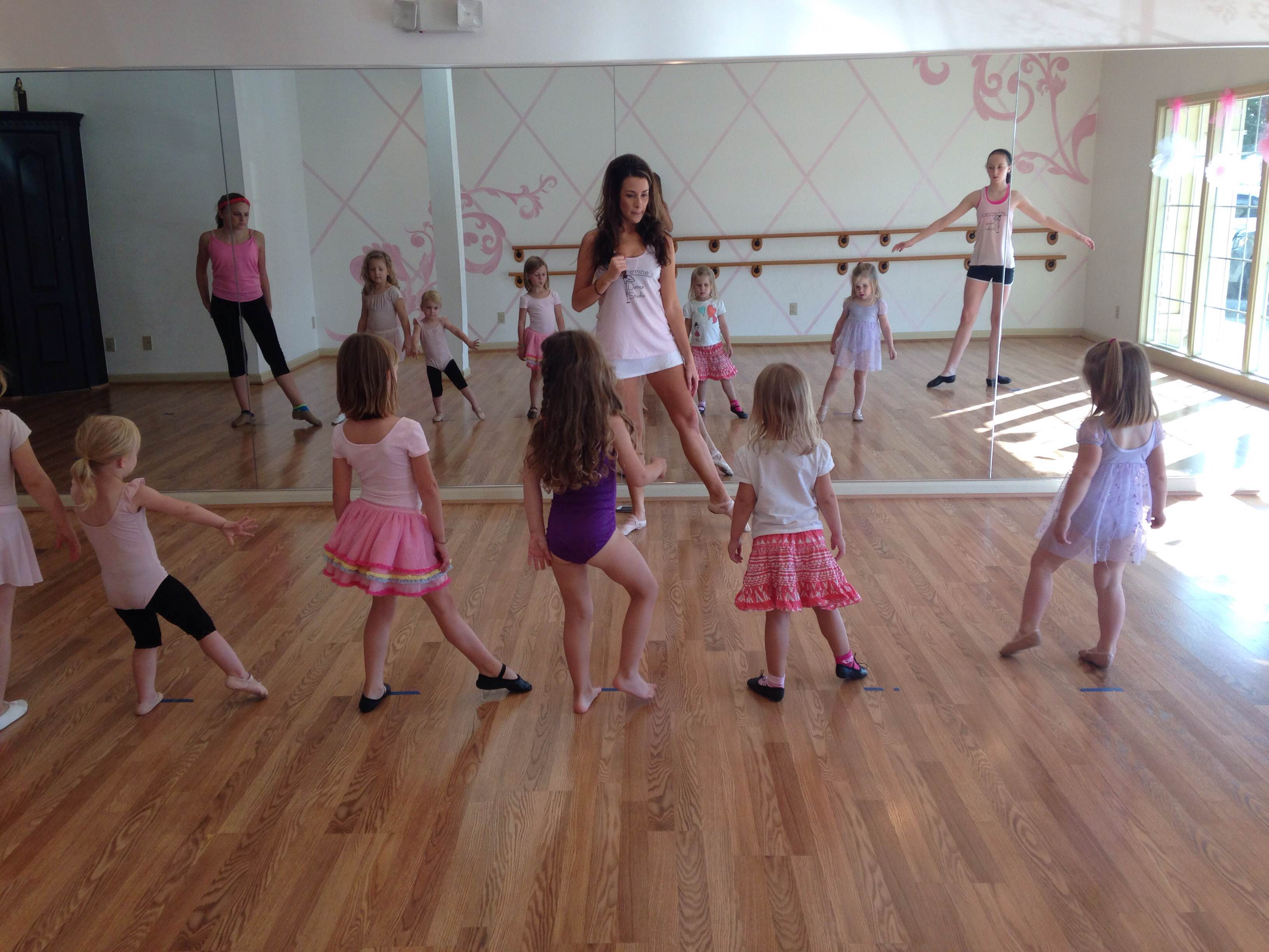 Catherine Stephenson loves teaching at Catherine's Dance Studio, 170 English Landing Drive, Suite 111 Parkville, MO 64152
