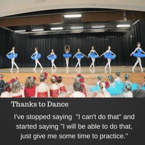 Thanks to Dance, I have the confidence I need to know that I can do anything, it just takes practice at Catherine's Dance Studio, 170 English Landing Drive, Suite 111 Parkville, MO 64152
