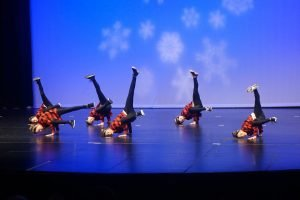 Hip hop is a form of dance that at Catherine's, is meant for older dancers.