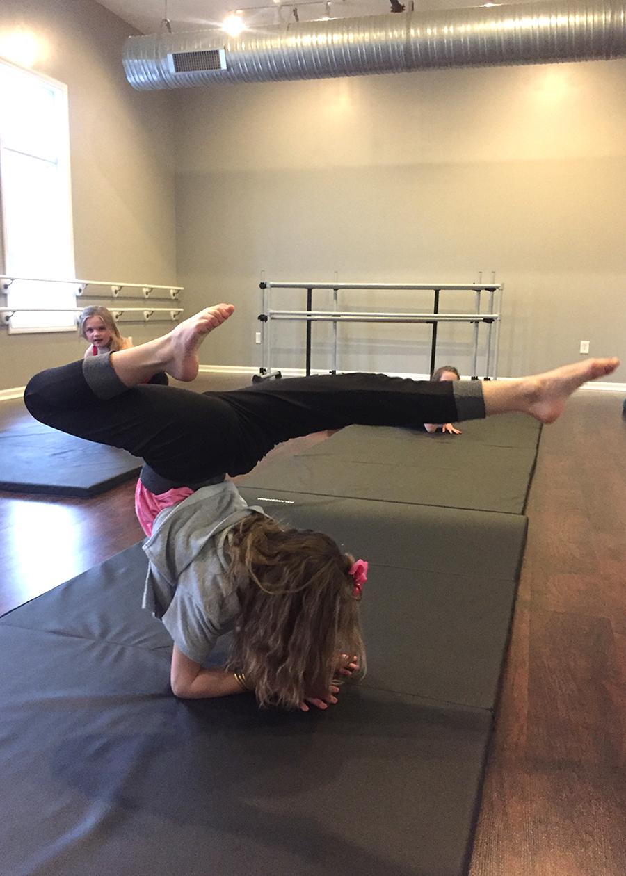 Acrco Dance Class Student, Catherine's Dance Studio, Parkville, MO