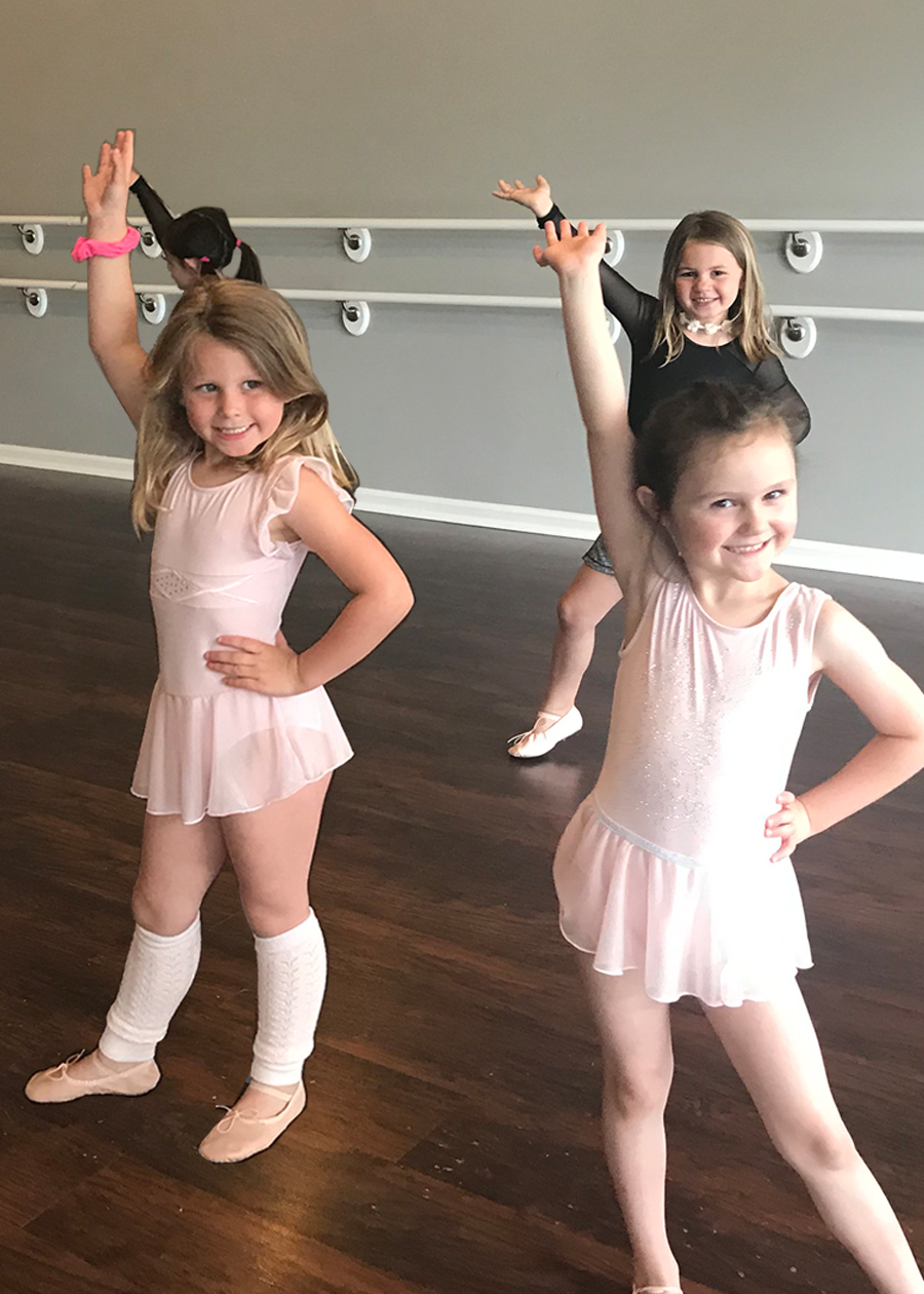 6 year old ballet class students, Catherine's Dance Studio, Parkville, MO