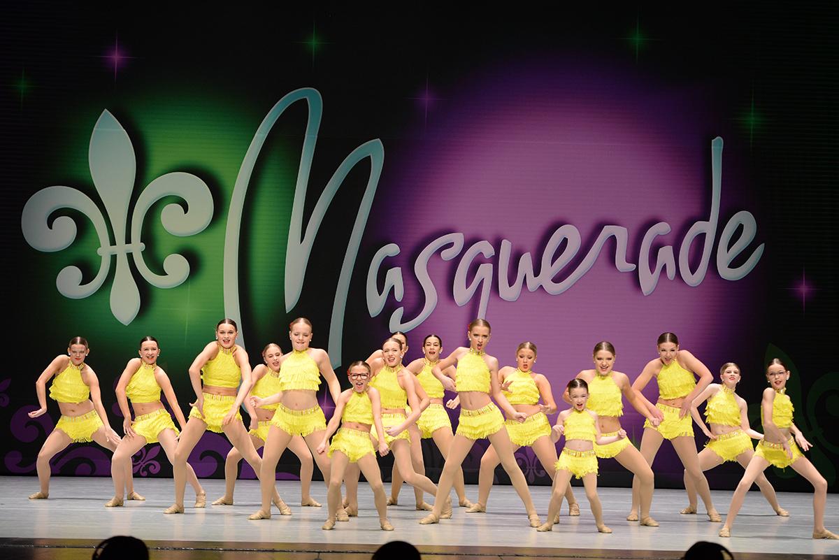 Dance Company competition, Masquerade, Catherine's Dance Studio, Parkville, MO