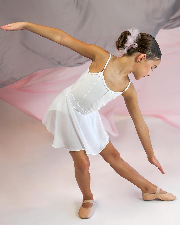 Ballet dancer, 3rd grade, Catherine's Dance Studio, Parkville, MO