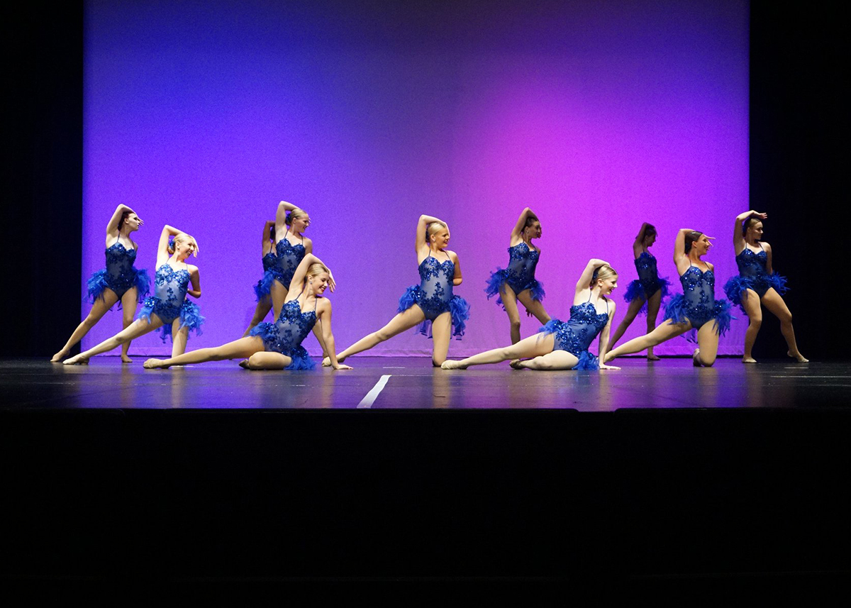 High School Lyrical Performance at recital-2