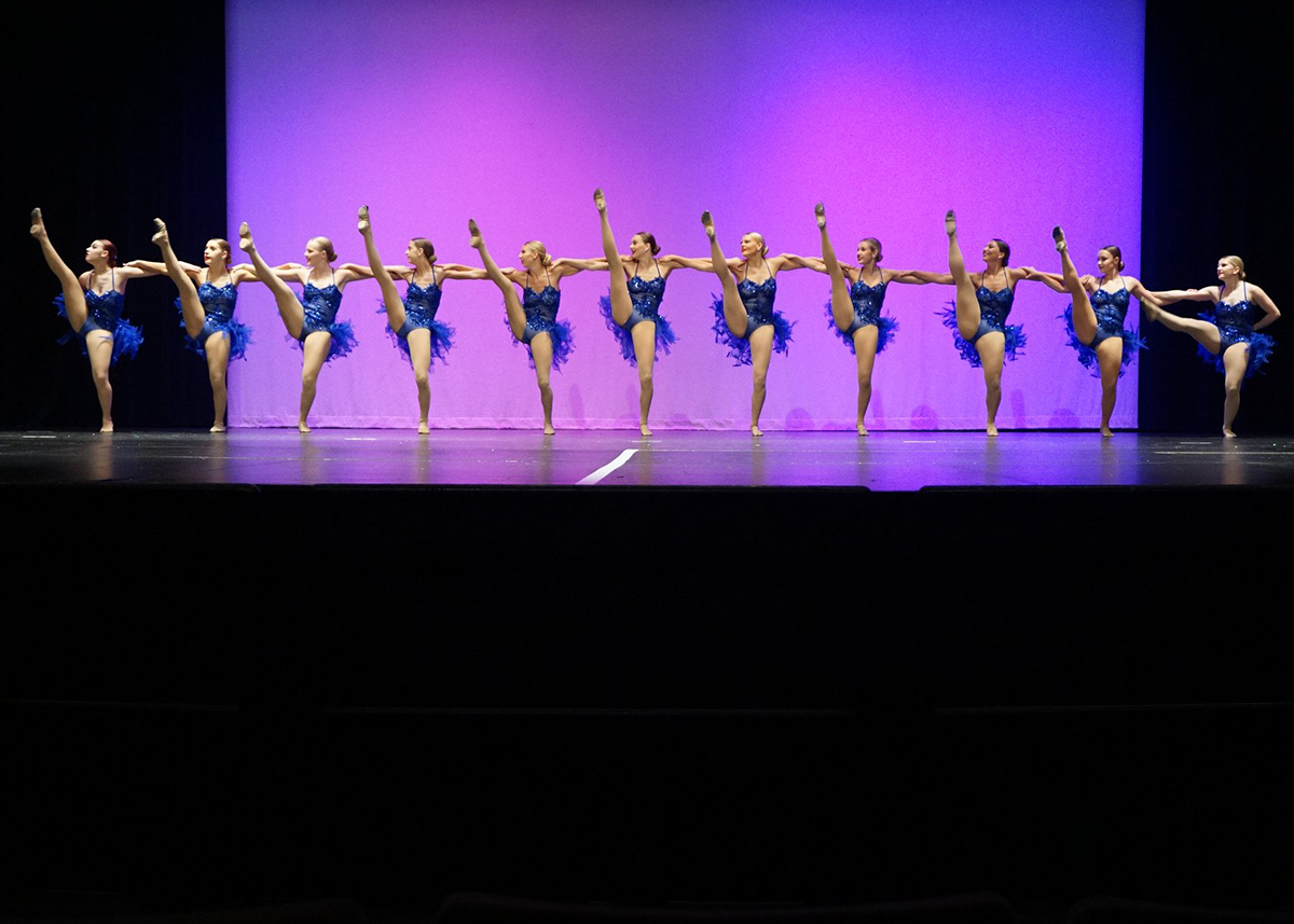 High School Lyrical Performance at recital