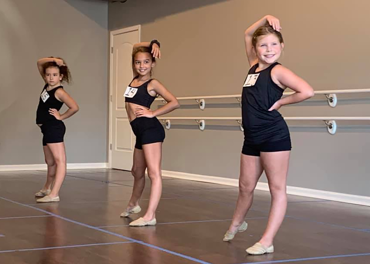 Competition Dance tryouts at Catherine's Dance Studio, Parkville, MO